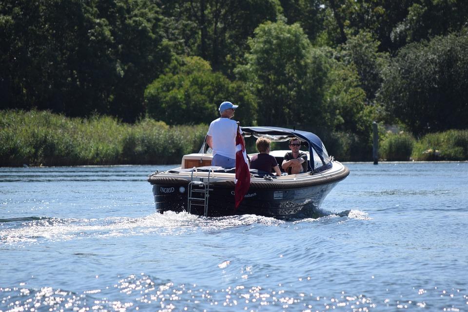 Speedboat, Gita, Sea, Denmark, Copenhagen, Trip