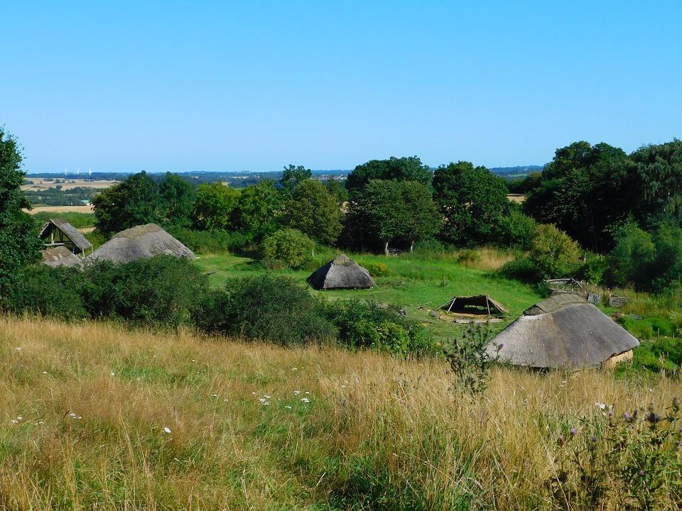 Denmark, Copenhagen, Vikings, Viking Village, Hut