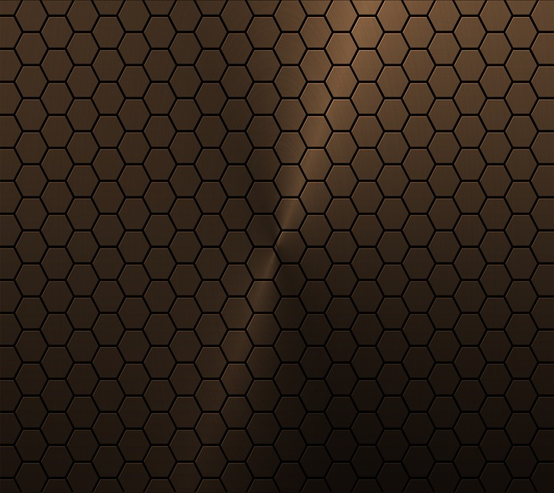 Free photo copper honeycomb vector background max pixel copper honeycomb background vector voltagebd Image collections