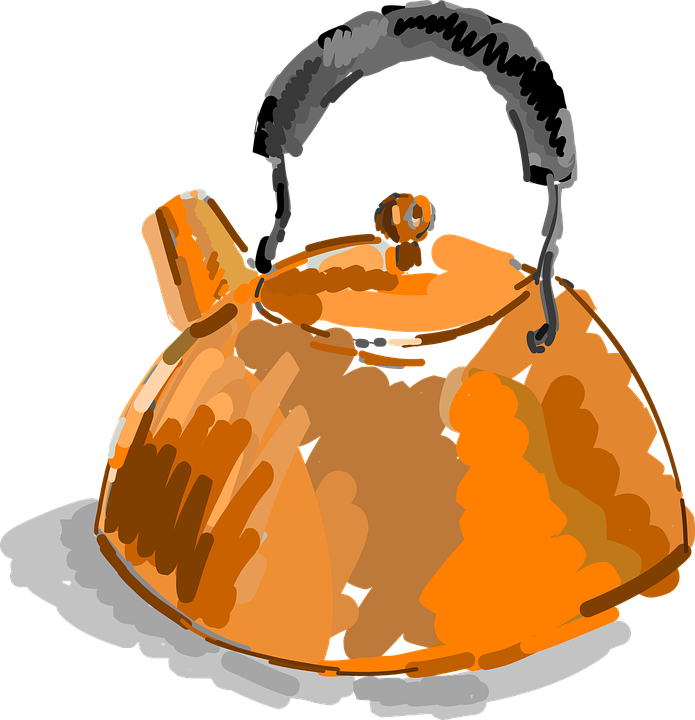 Kettle, Copper, Tea, Metal, Old, Vintage, Water, Pot