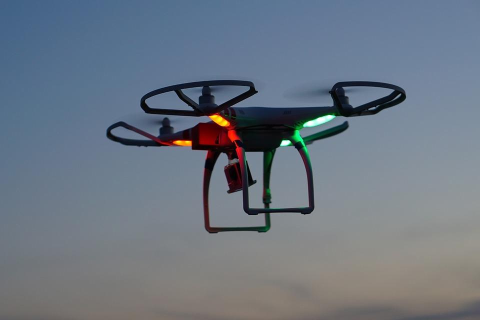 Drone, Dji, Phantom, Quadcopter, Copter, Field