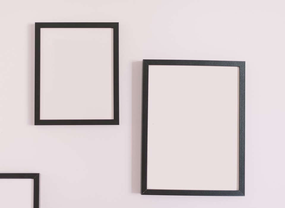 Frames, Picture Frames, Mockup, Wall Frame, Copy Space
