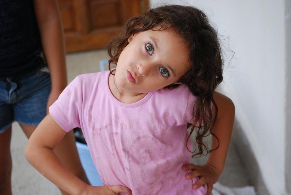 Child, Girl, Coquette