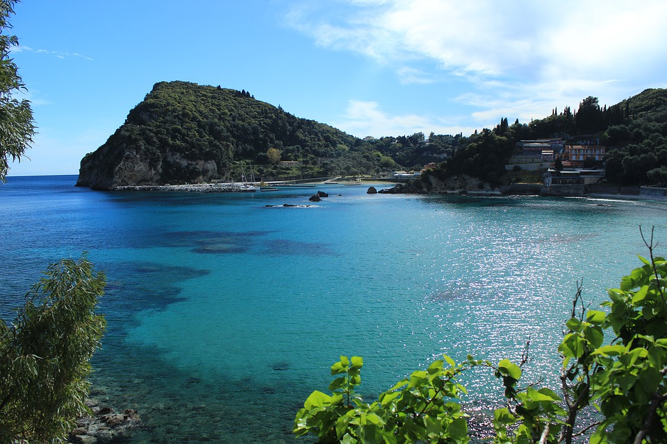Greece, Corfu, Sea, Island, Beach, Sky, Greek, Summer