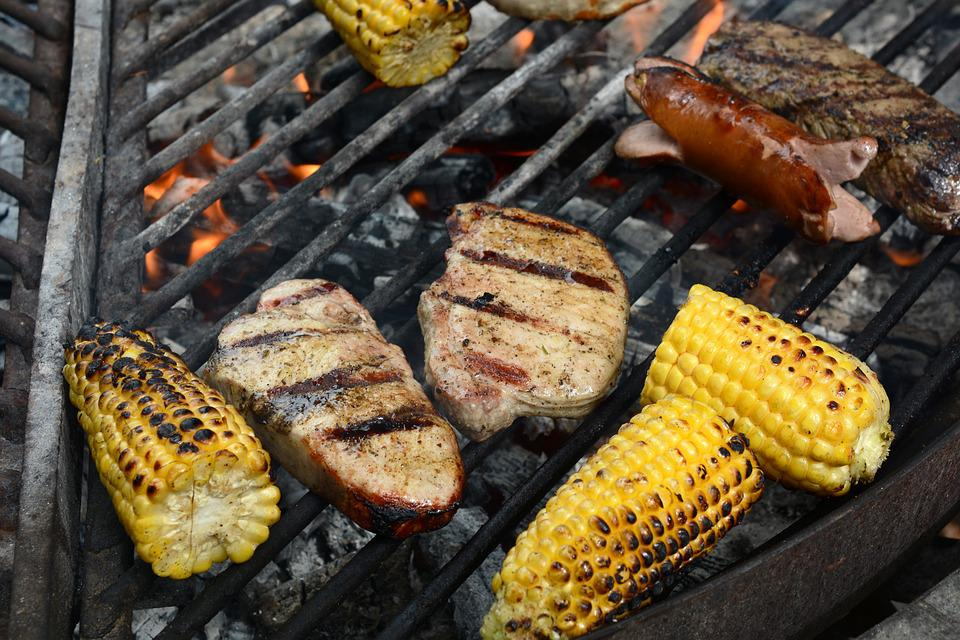 Grilling, Meat, Grilled Meats, Corn On The Cob, Grill