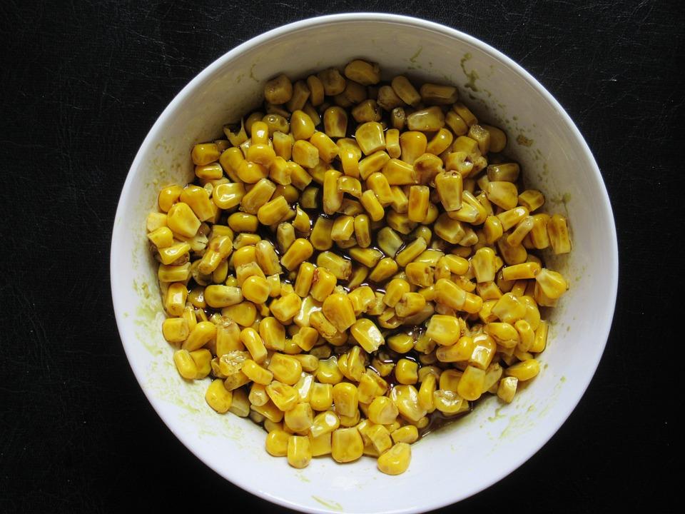 Corn, Salad, Seed Oil, Corn Kernels, Pumpkin Seed Oil