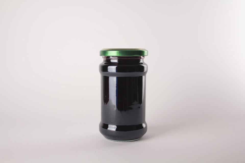 Jar, Corned, Berries