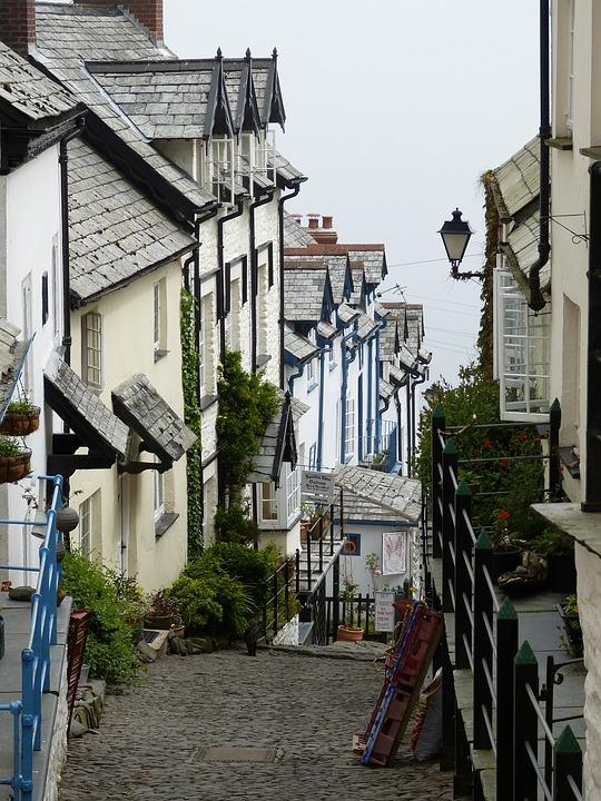 Cornwall, England, Village, Outlook, United Kingdom