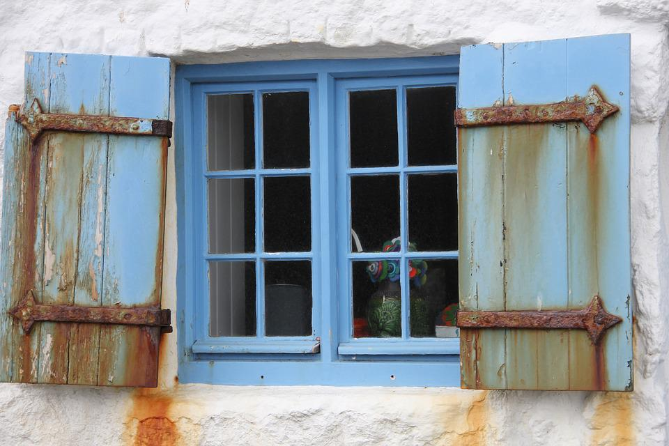 Window, Old, Cornwall, England
