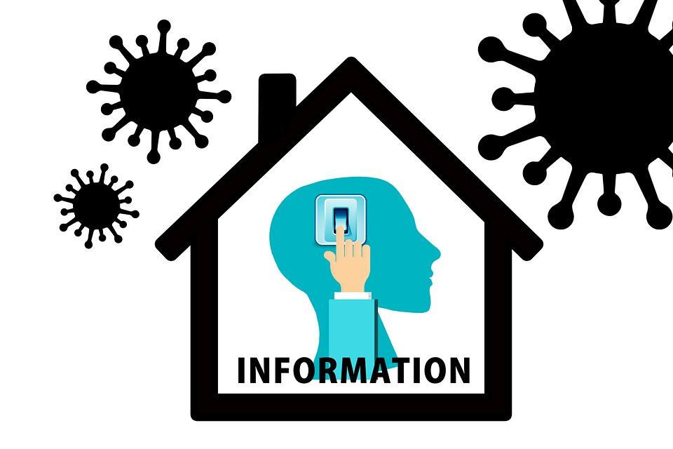 Inform, Information, News, House, Corona, Coronavirus