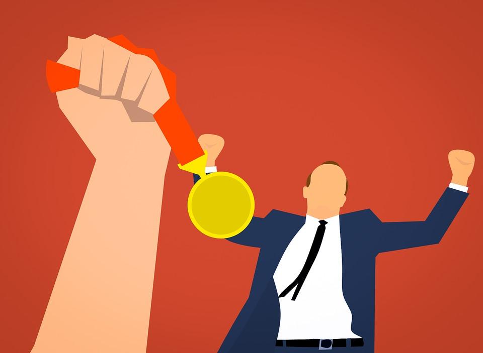 Medal, Award, Reward, Business, Organization, Corporate