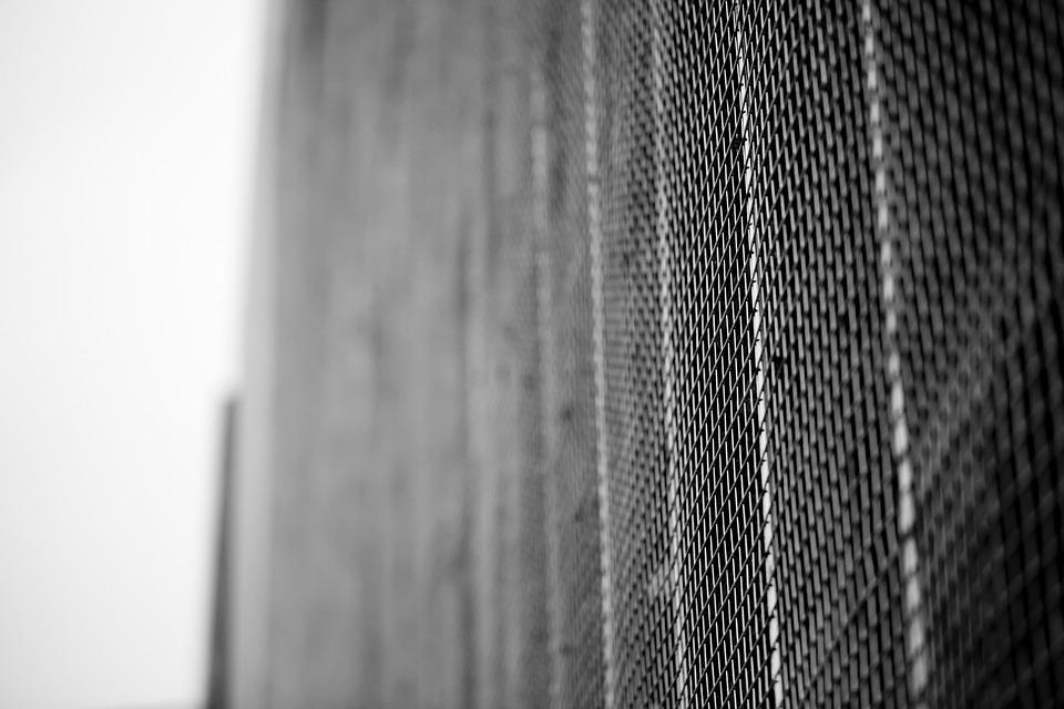 Metal, Grey, Modern, Architecture, Corrugated