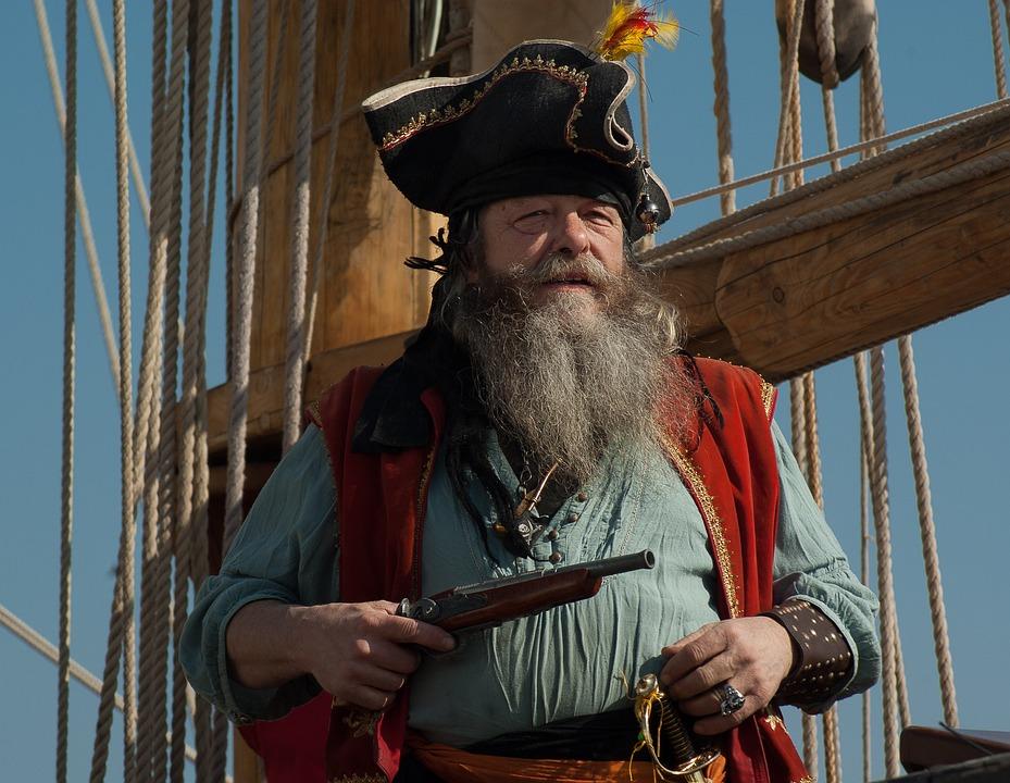 Sailboat, Boat, Marin, Corsair, Pirate, Filibuster, Gun