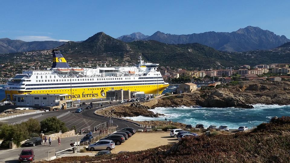 Corsica Ferries, Corsican, Transport, Sea, Ile Rousse