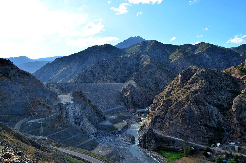Coruh Valley, River, Mountain, Nature, Landscape