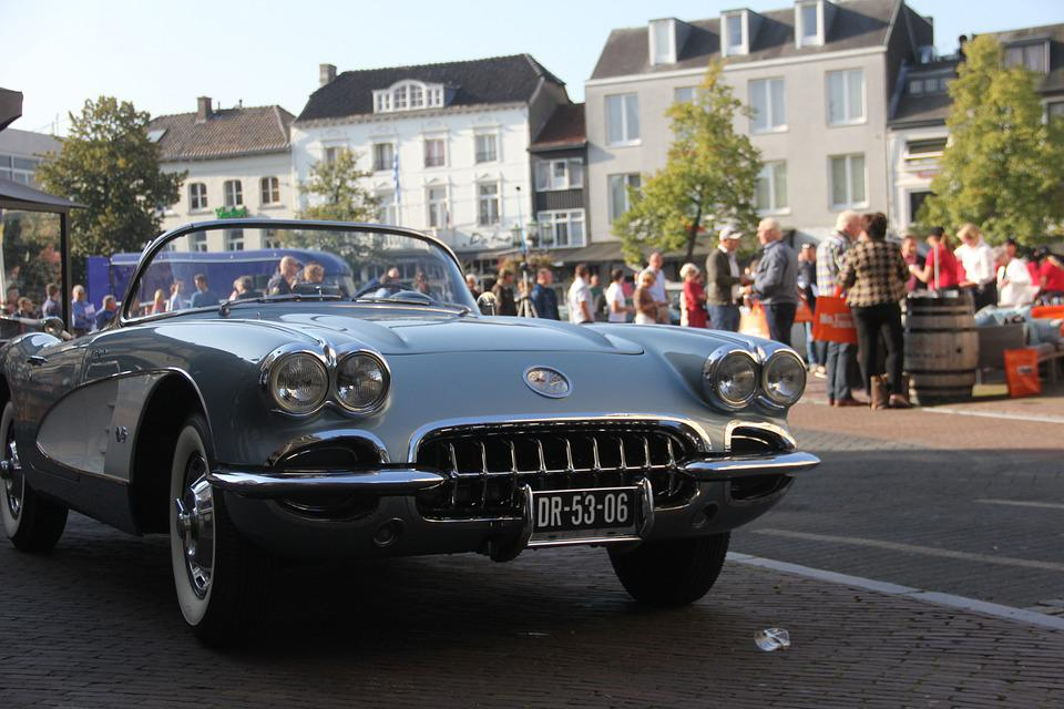 Classic Car, Corvette, Sittard Klassiek