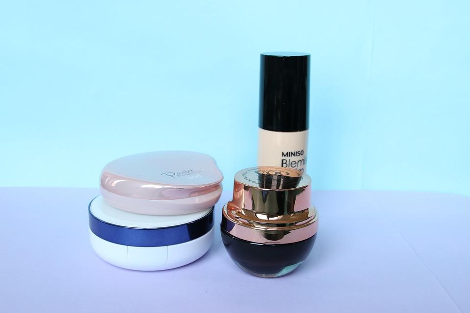 Cosmetic, Foundation, Creams