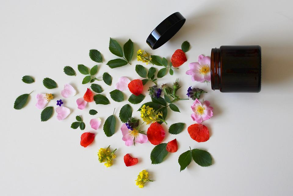 Natural Cosmetics, Cosmetics, Flowers, Beauty