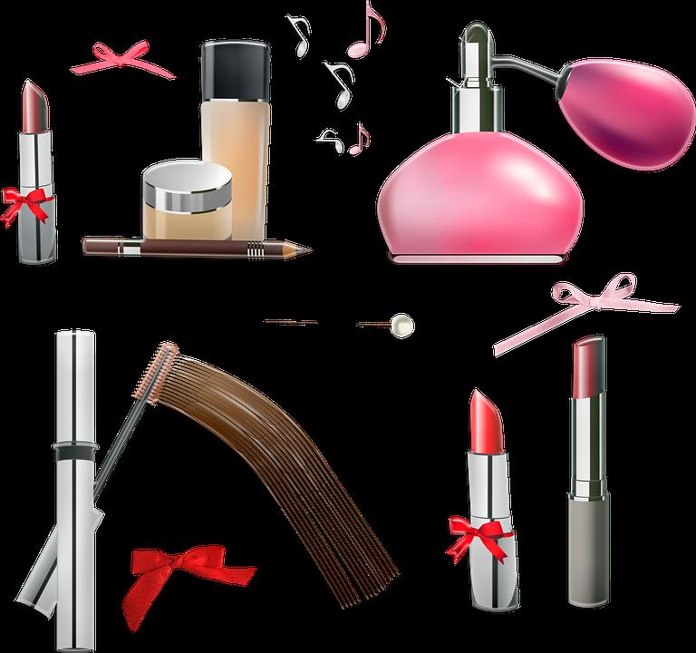 Make Up, Perfume, Lipstick, Blush, Cosmetics, Makeup