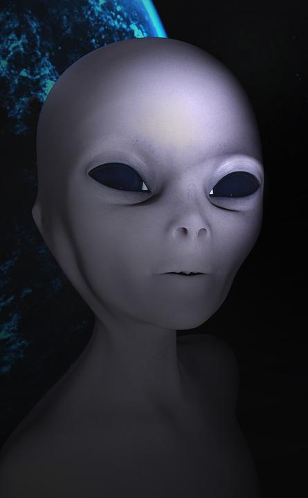 Alien, Cosmos, Universe, Portrait, People, Person