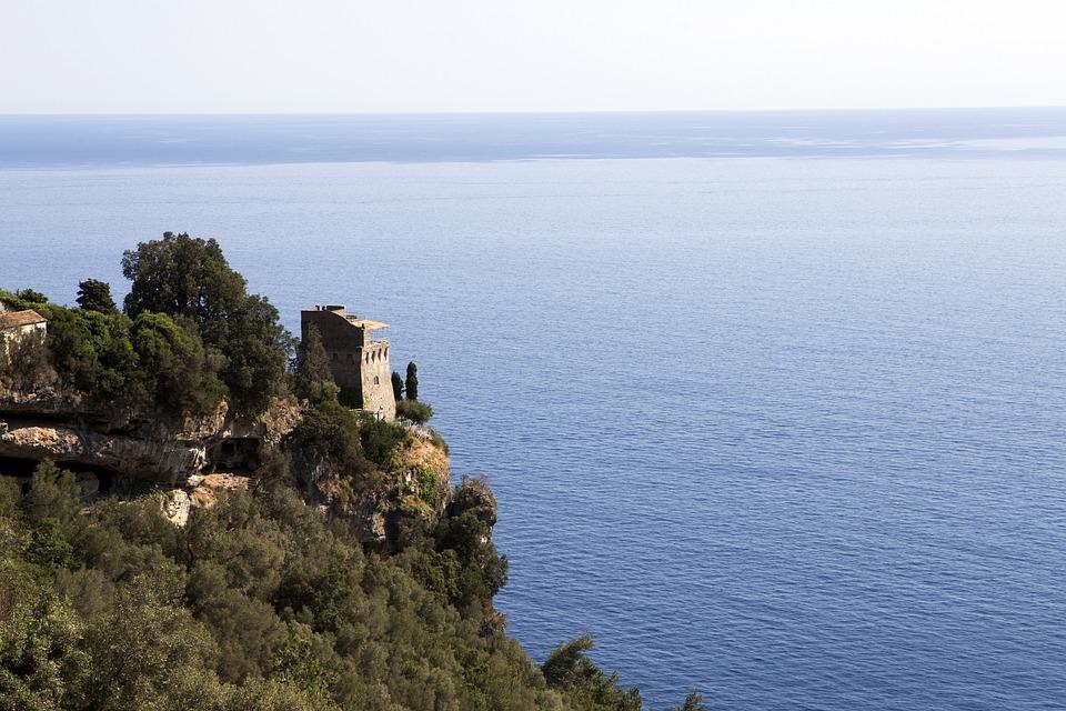 Amalfi Coast, Costa, Amalfi, Campania, Sea, Sky