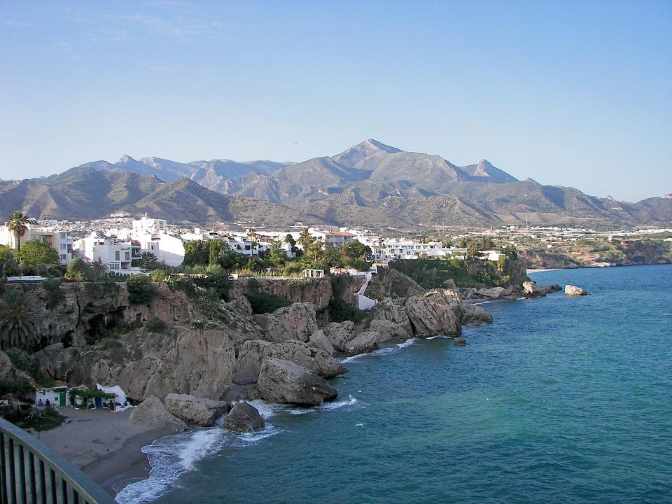 Balcon De Europa, Nerja, Andalusia, Costa Del Sol