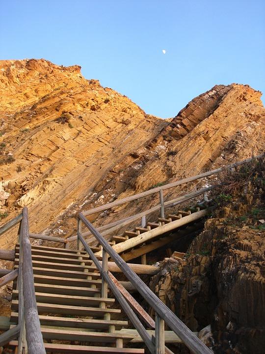 Beach Access, Costa Vicentina, Stairs