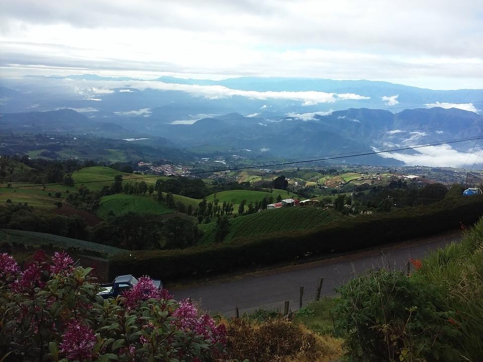 Mountains, Cartago, Costarica
