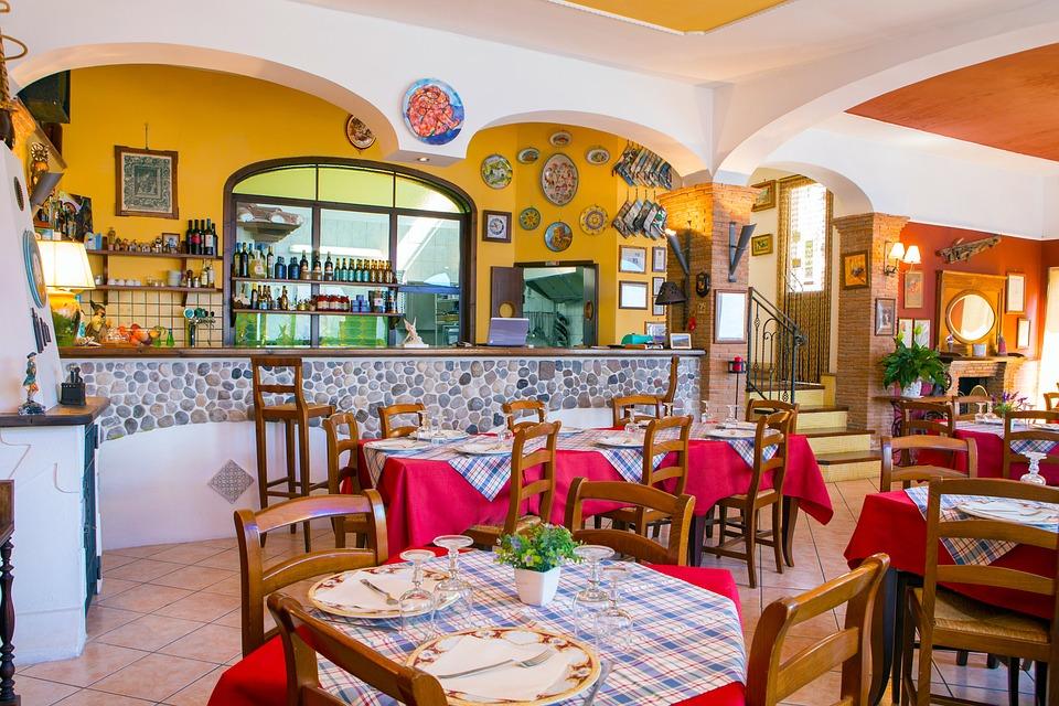 Restaurant, Sunsets, Costiera, Food, Holiday