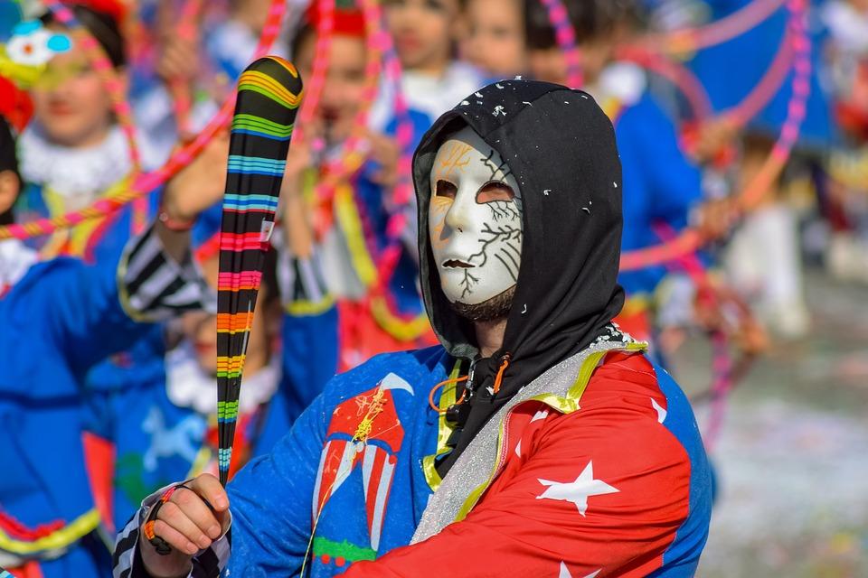 Carnival, Parade, Costume, Celebration, Amusement