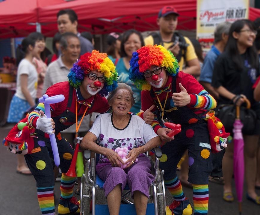Clown, Street Party, Carnival, Costume, Colorful