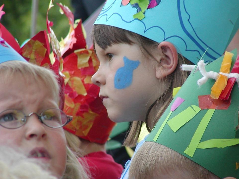 Children, Costume, Color, Festival