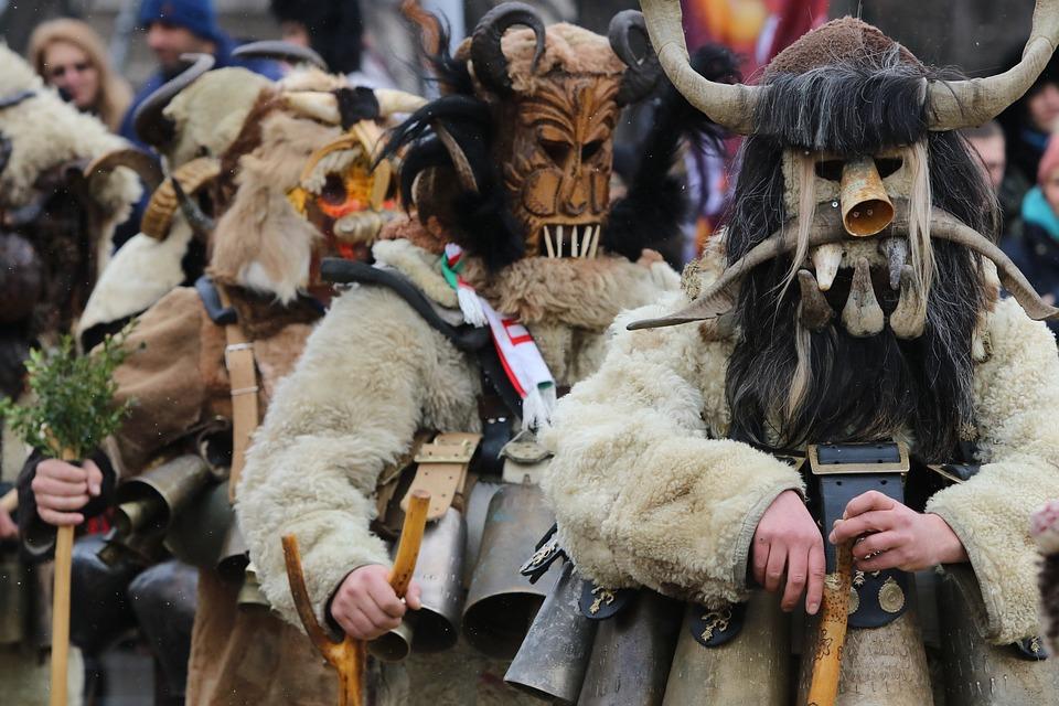 Bulgaria, Costume, Festival, Games, Kukeri, Masquerade