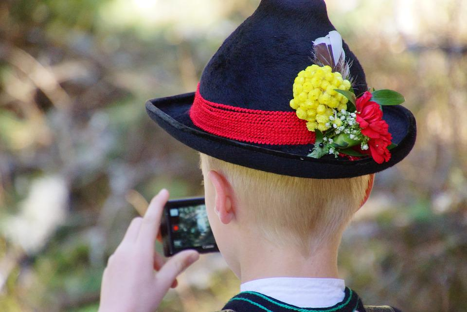 Sarner, Hat, Costume, South, Italy, Tradition