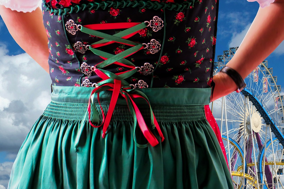 Dirndl, Costume, Tradition, Bavaria, Clothing