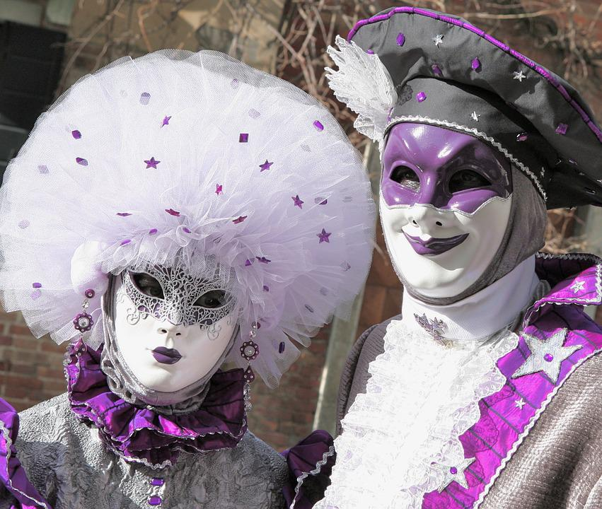 Hide, Costume, Mystery, Masked Ball, Carnival, Venice