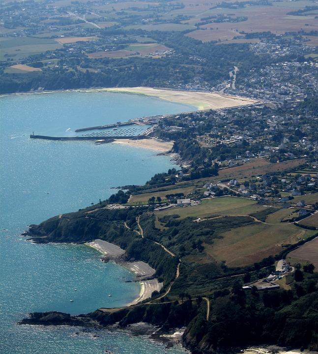 Côtes D'armor, Brittany, France, Aerial View, Landscape