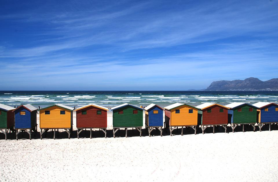 Beach, Cottage, Cottages, Beach Huts, Sea, Holidays