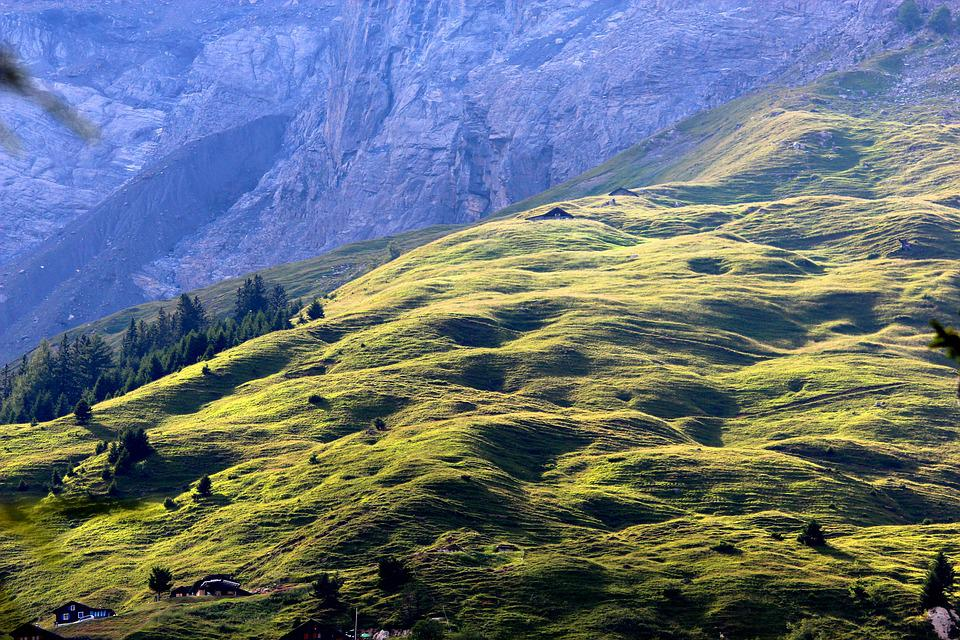 Alps, Cottage, Mountain, Nature, Landscape, Alpine