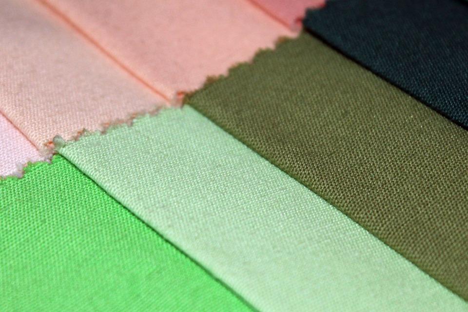 Fabric, Cotton, Contrast, Color, Shades, Palette