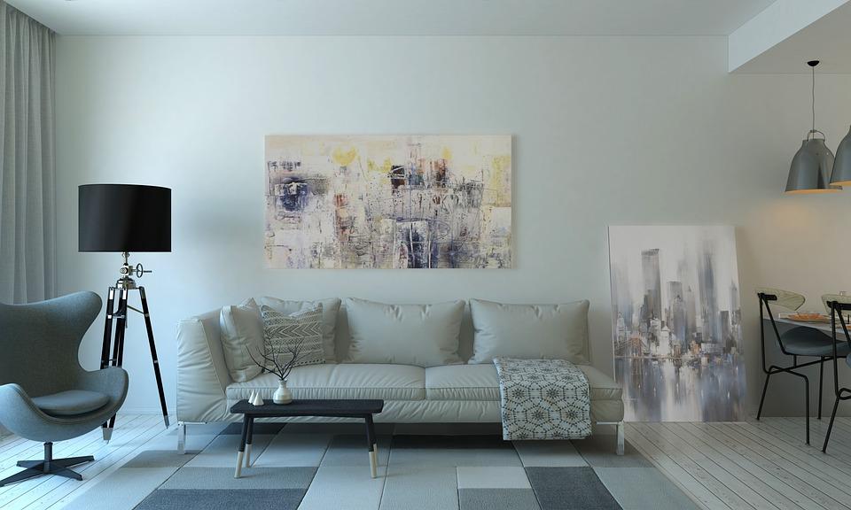 Couch, Furnitures, Indoors, Interior Design, Lamp