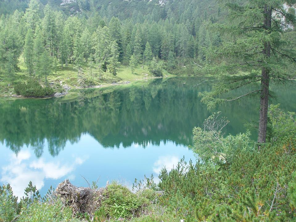 Count Mountain Lake, Styria, Austria, Water, Vacations