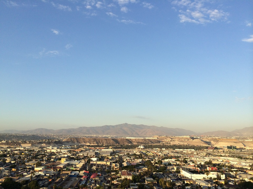 City, Tijuana, Mexico, Baja, Country, Scenery, Mountain