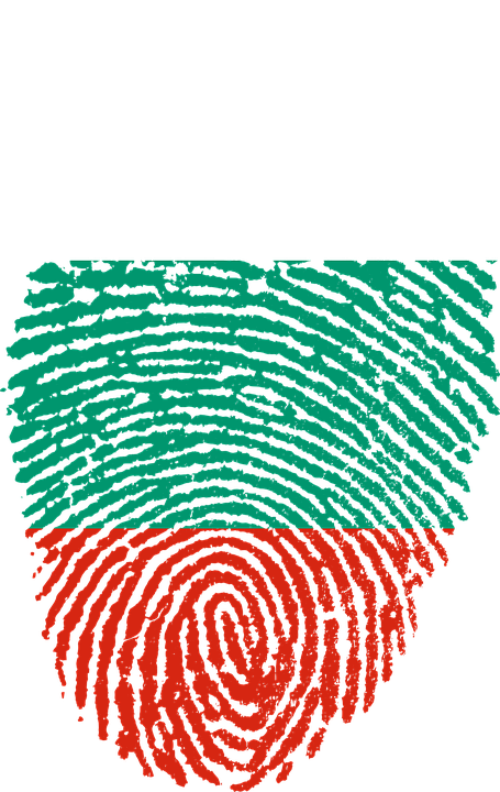 Bulgaria, Flag, Fingerprint, Country, Pride, Identity