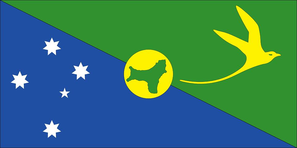Flag, Country, Christmas Island
