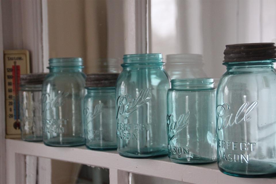 Mason Jars, Farm House, Rustic, Country, Farm, House