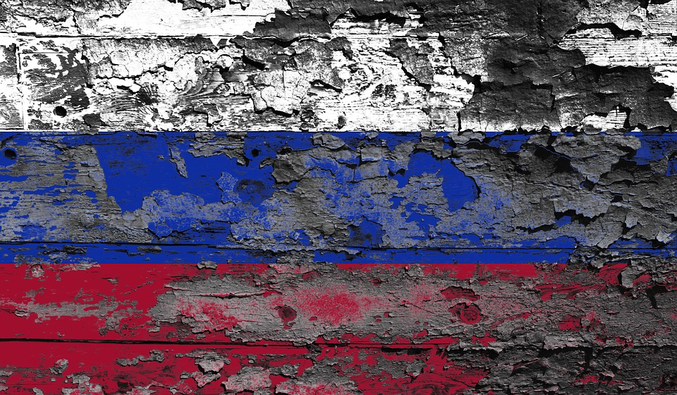 Russia, Flag, Moscow, Country, Red, National Colours