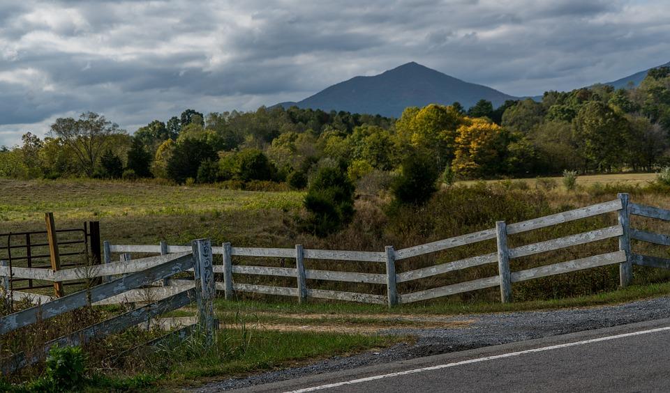 Blue Ridge Parkway, Virginia, Country Roads