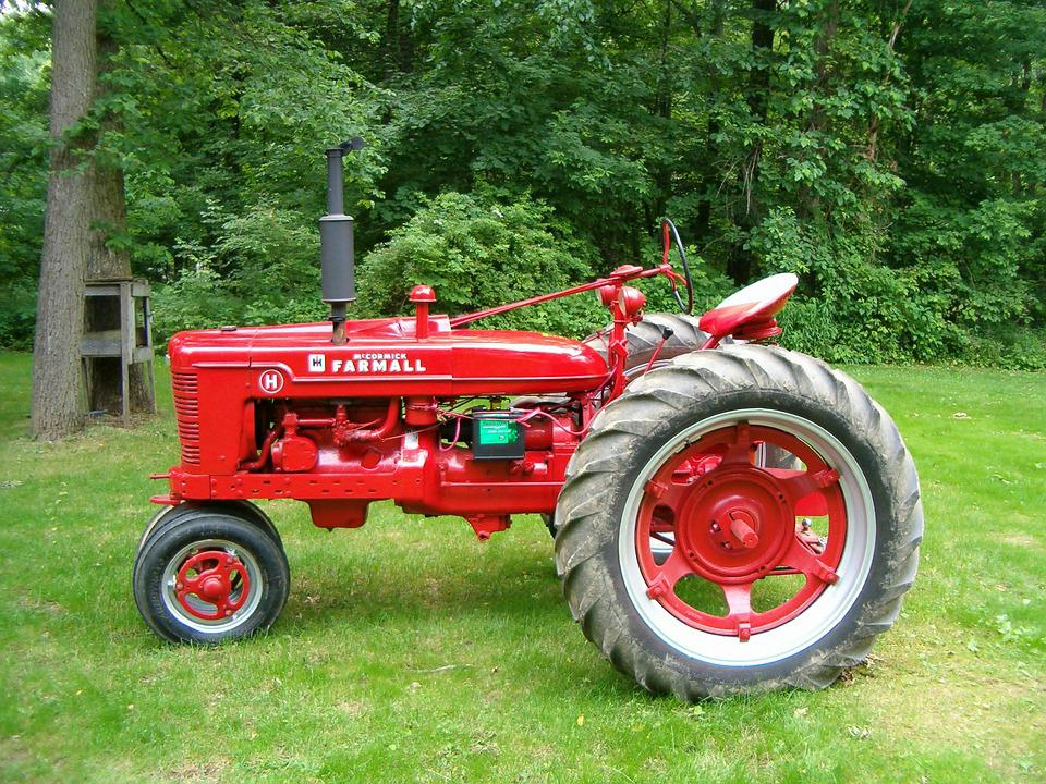 Free photo Country Rural Tractor Farming Farmall H - Max Pixel