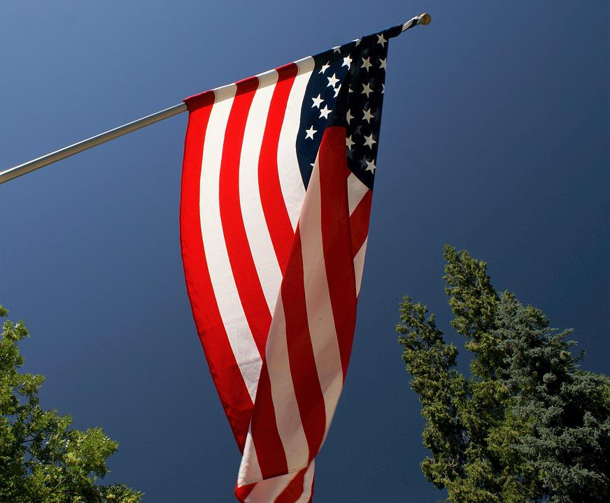 Flag, Country, Usa, American, National, Stripes, United